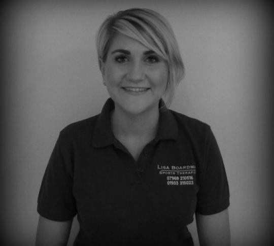 Introducing Lisa Boardman, Sports Therapist, to our team