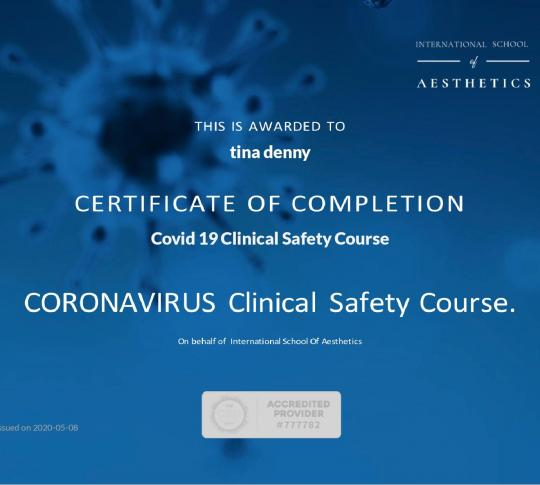 Covid 19 Clinical Safety courses